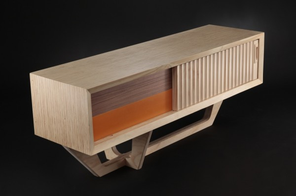 Sustainable and unconventional furniture items by jory brigham design